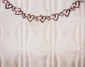 Engagement Party Decor, Rustic Garland, 7ft