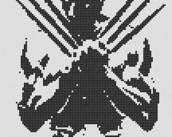 PATTERN: Wolverine Cross Stitch