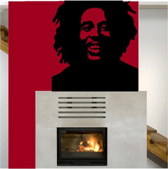 Bob Marley UBer Decals Wall Decal Vinyl Decor Art Sticker
