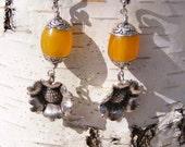 Buttonwood Farm Sunflower Make A Wish Earrings