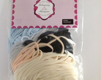 Material in Mixed Colors for Covering Schnazzy Hangers