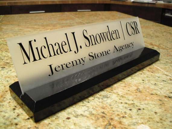 Details about Personalized Attorney Lawyer Desk Name Plate