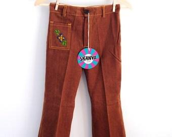 Girls Vintage Pants, Girls Pants, Girls Trousers, Girls Retro Pants, Girls Vintage Pants, Vintage Trousers