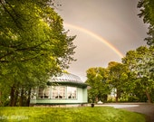 Photo print of a beautiful rainbow in Tallinn, Baltic Sea, Estonia, art landscape photography, print to frame for your wall