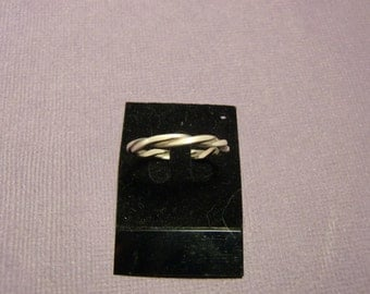 Sterling Silver Ring - Sterling Silver Rings - Twist Ring