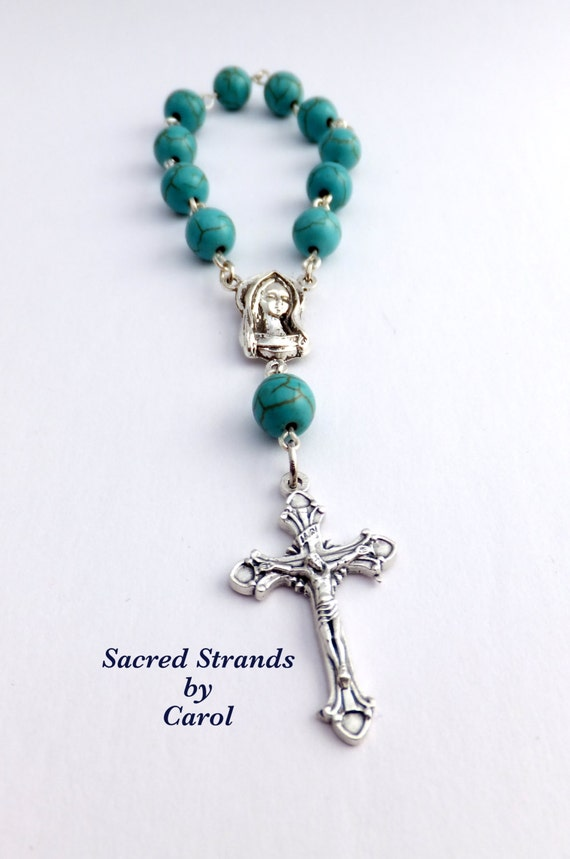 how to use a single decade rosary