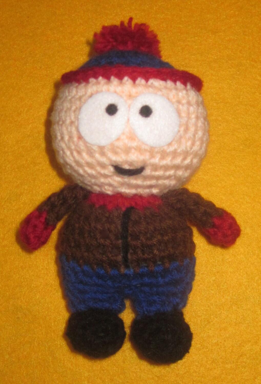 Amigurumi Cartman : Adorable crochet Amigurumi South Park Stan Marsh