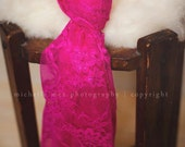 Photography prop - Baby wrap - Baby lace wrap in pink - Newborn photo prop