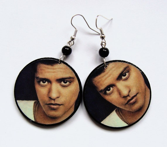 Bruno Mars Earrings