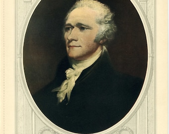Popular items for alexander hamilton on etsy for Alexander manufacturing company
