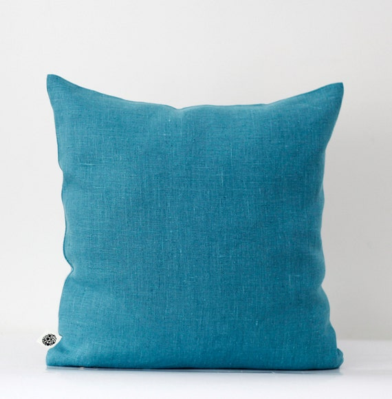Decorative Pillows In Turquoise : Decorative pillow cover turquoise decorative by pillowlink