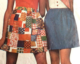 Vintage 1969 Simplicity Super Simple Skirt Pattern