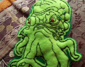 Cthulhu brooch/decoration/necklace