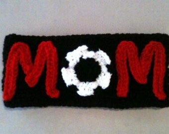 Soccer mom ear warmer / headwrap / headband