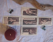 Tarot Card Reading, Hoodoo, Magick, Wicca, Cards, Divination, Conjure, Fortune Telling (5 cards)