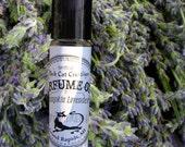 PUMPKIN LAVENDER Perfume Oil - Lavender and Pumpkin Pie  - Intriguing Perfume by Black Cat Creatives