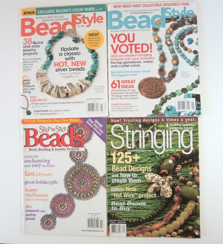 Stringing Beads Magazine Beading Magazines Collection