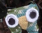Crocheted Owl Rattle
