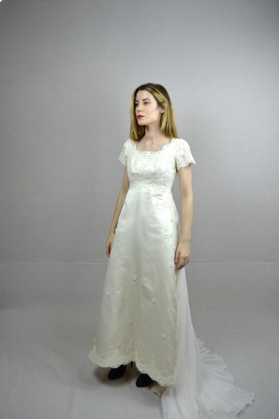 60s wedding dress 1960s wedding dress gisella for How to ship a wedding dress usps