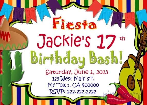 Pizarra Fiesta cumpleaños invitación fiesta por M2MPartyDesigns