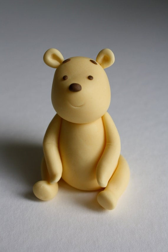 Vintage Winnie The Pooh Cake Topper