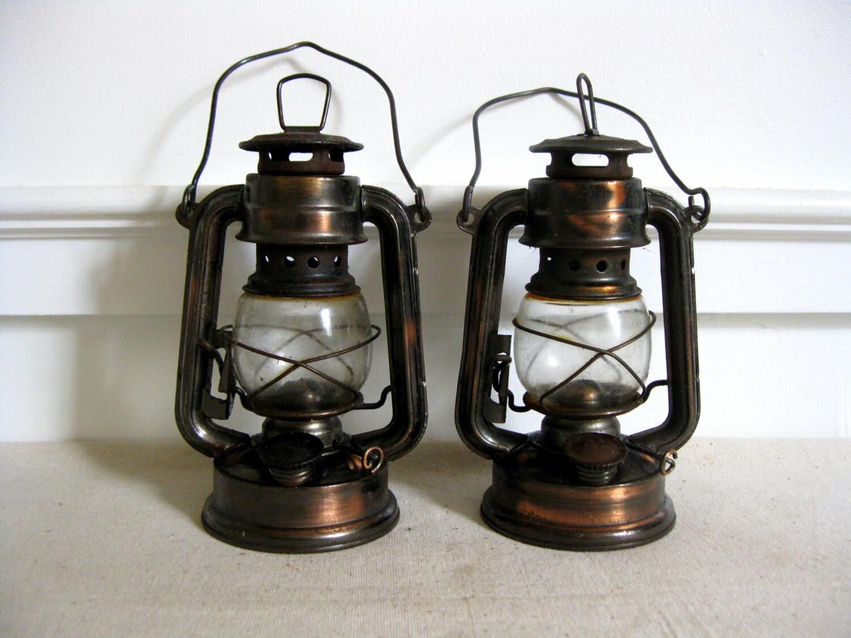 Vintage Lanterns Railroad Lanterns Oil Lanterns With