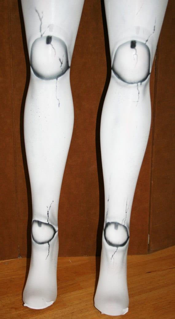 broken doll ball joint tights