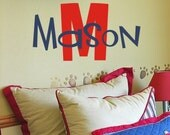 Custom Children's Vinyl Name Decal - Nursery and Bedroom Vinyl Wall Art - Boy & Girl Vinyl Lettering