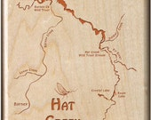 HAT CREEK RIVER Map Fly F...