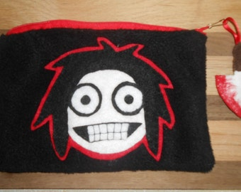 Jeff the Killer Zipper Pouch