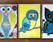 """OWL Notebooks - 5.5""""x8.5"""" Pick your favorite"""