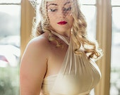 Petal - French Style Bridal Ombre Cocktail Hat