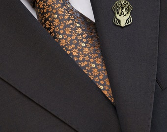 St. Bernard brooch - Gold