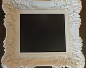 HOLD FOR JANE Ornate Frame Vintage Custom Framed Chalkboard Custom Frame Wedding Sign Photo Prop Formal Weddings Hollywood Regency