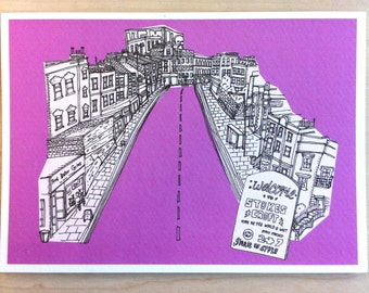 Bristol, Stokes Croft - card