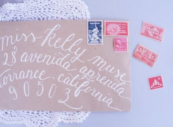 5 Sets - Unused Vintage Baseball Navy & Red Postage Stamps