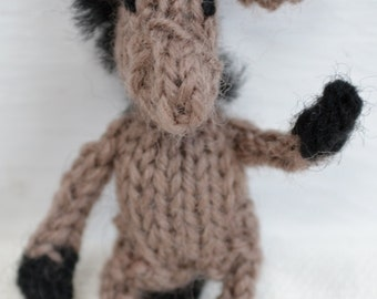 Derek Donkey Knitting Pattern