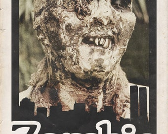 "Lucio Fulci's ""Zombie"" Movie Poster - 11x17"""