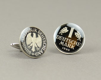 Cufflinks Coins Germany