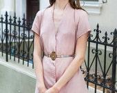 Pink dress,  Powder dress