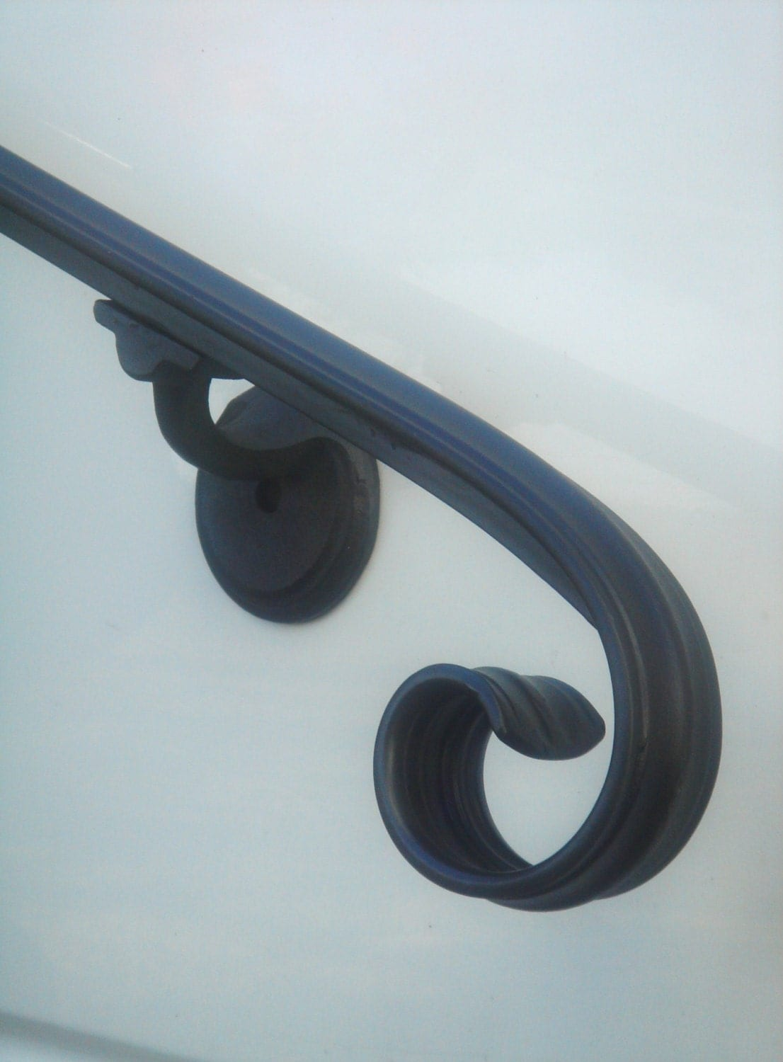 3 Ft Wrought Iron Hand Rail Wall Rail Stair Step By