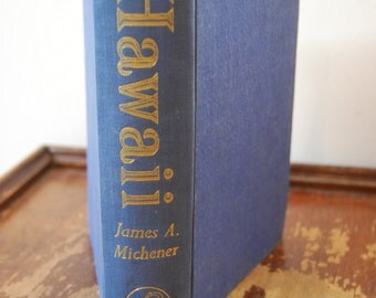 Vintage Book, Hawaii by James A. Michener