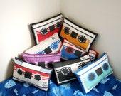 Transformers G1 Cassette Throw Pillows