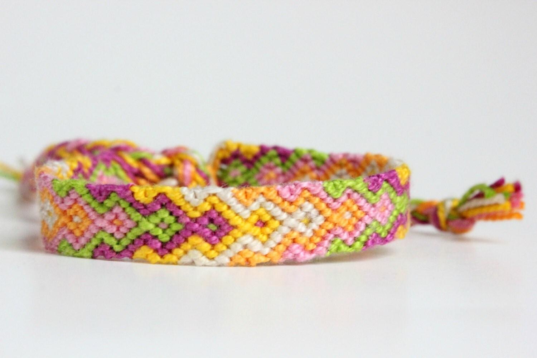 arrowhead friendship bracelet by colorfuldelight on etsy