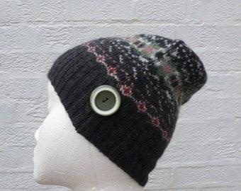 Beanie small hat wool winter beanie handmade hat teens small wool beanie hat girls small pure wool beanie ecofriendly pure wool winter hat.