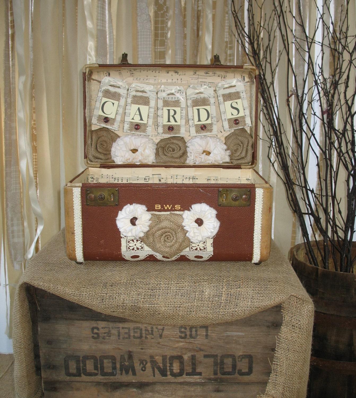 Card Holder Country Wedding Ideas