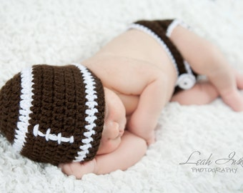 Baby Football Beanie Hat Only