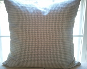 Roth and Thompkins check pillow cover