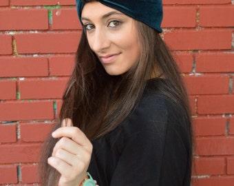 Headbands, Turban Headband, Teal Blue Headband, Bow Headband, Girls Headband, Workout Headband, Turban Headwrap, Turbans, Womens Turban