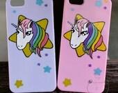 Unicorn iPhone SE cover i...
